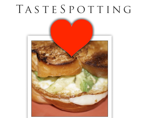 "Tastespotting ""Hearts"" Grilled Cheese Sandwiches"
