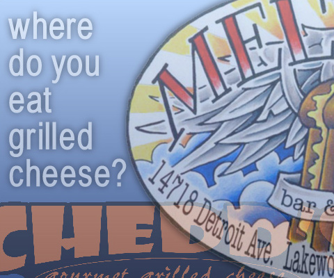 Where do you eat grilled cheese?