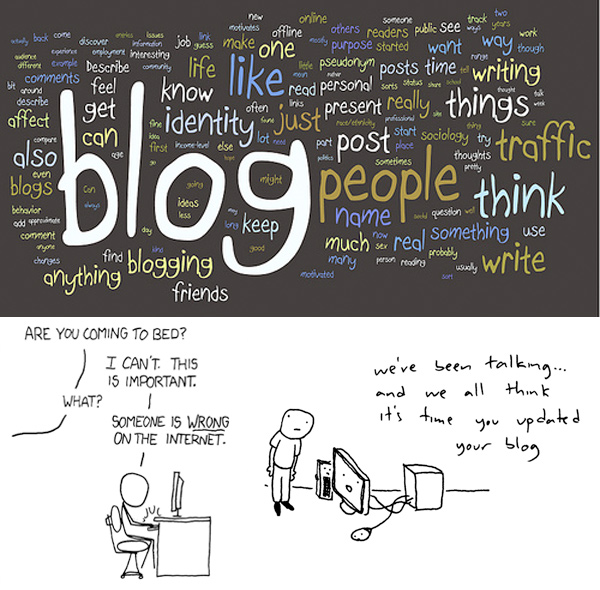 Why do you blog [about food]?
