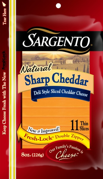 Sargento Natural Sharp Cheddar