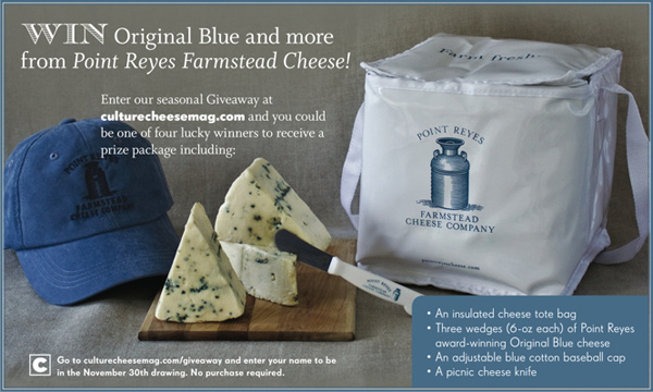 Fall Giveaway: Point Reyes Original Blue Cheese and more!