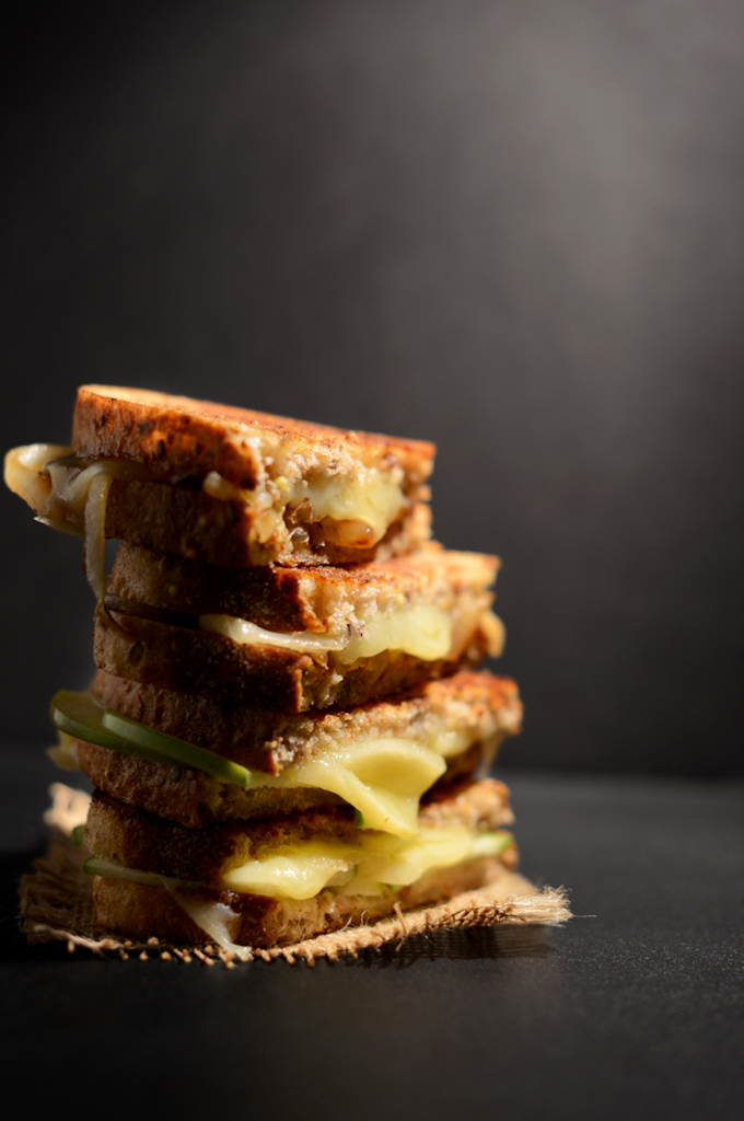 Sweet & Savory Grilled Cheese