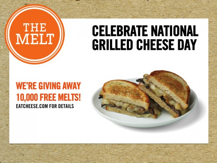 National Grilled Cheese Month 2013 - Melt