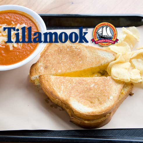National Grilled Cheese Month 2013 - Tillamook